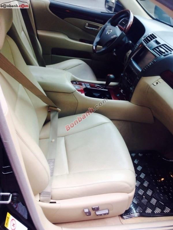 Chính chủ bán Lexus LS đời 2008, màu đen, nhập khẩu nguyên chiếc