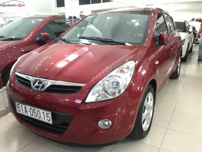Xe Hyundai i20 đời 2011, màu đỏ, xe nhập số tự động