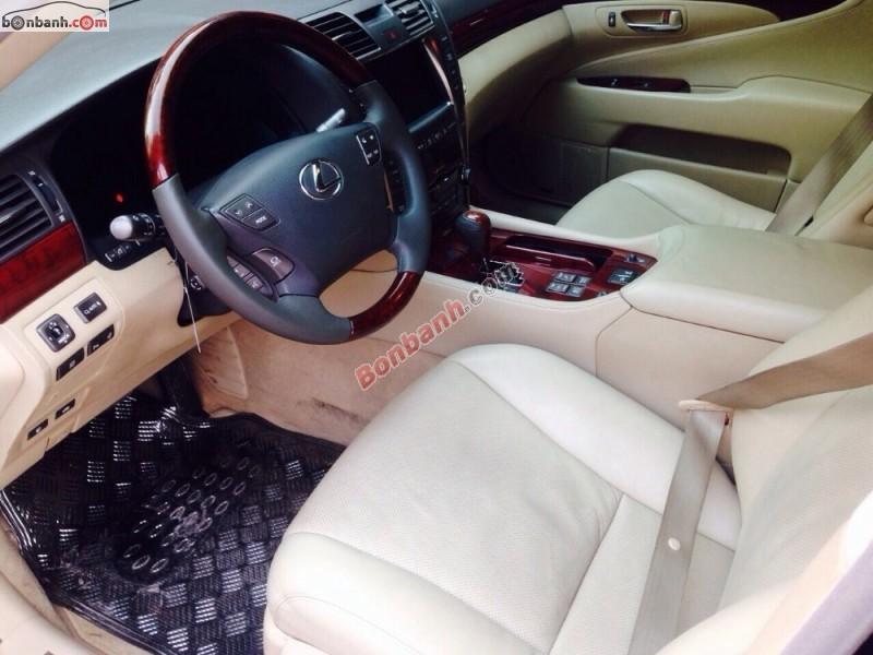 Chính chủ cần bán xe Lexus LS đời 2008, màu đen, xe nhập