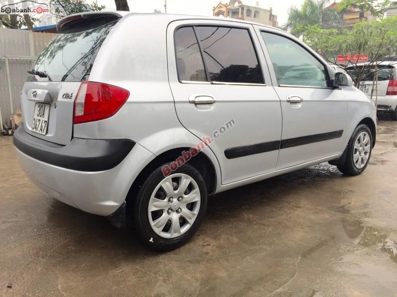 Bán Hyundai Getz 1.1 MT đời 2009, màu bạc, nhập khẩu nguyên chiếc chính chủ, giá 285Tr