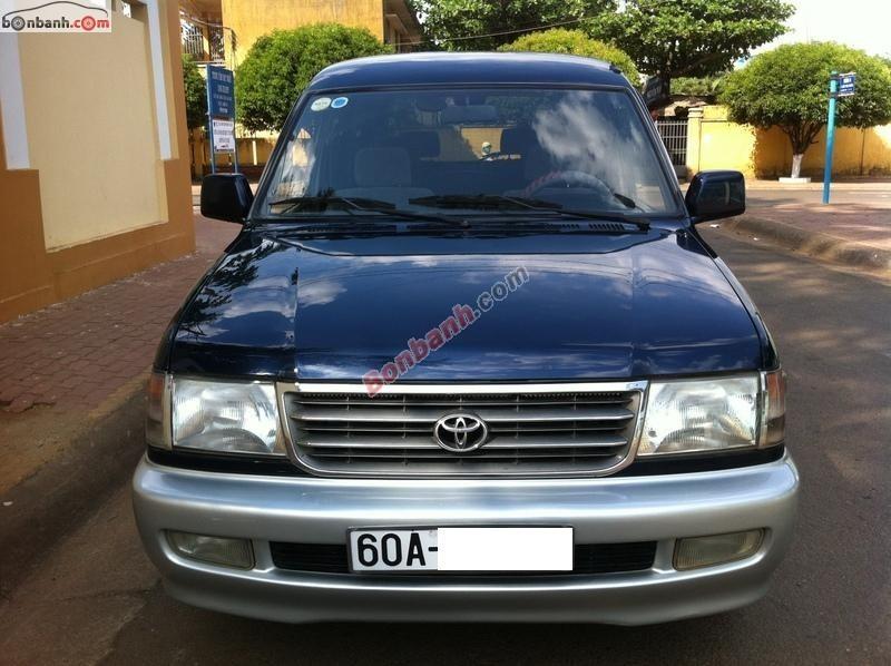 Bán xe Toyota Zace GL đời 1999, giá chỉ 259 triệu