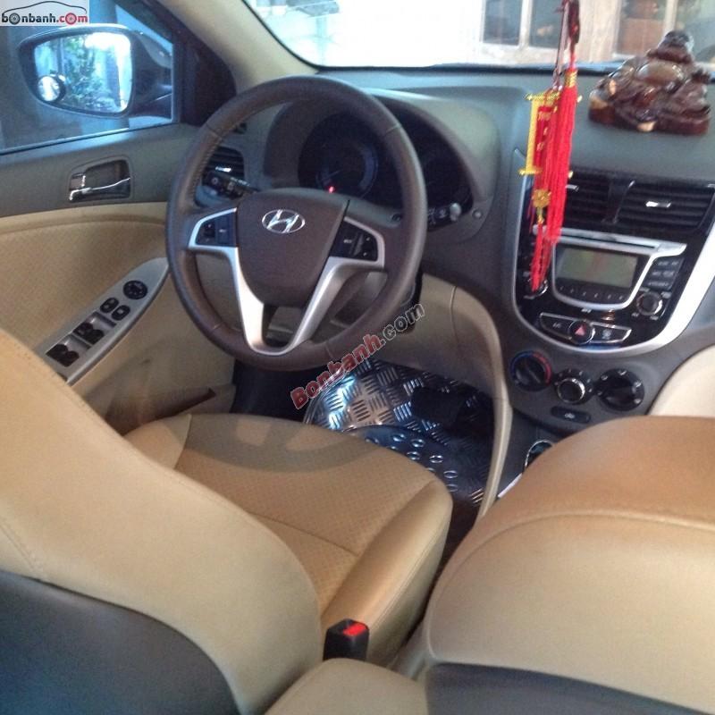Cần bán lại xe Hyundai Accent đời 2011, màu đỏ, nhập khẩu, giá 515Tr