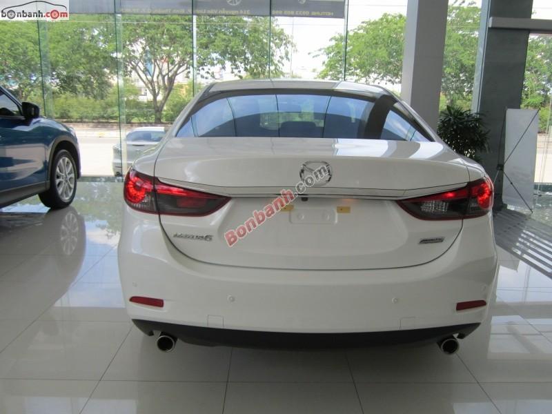 Bán ô tô Mazda 6 2.5 đời 2015, màu trắng tại Mazda Biên Hòa