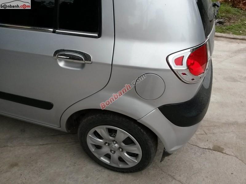 Cần bán Hyundai Getz 1.1MT đời 2009, màu bạc, xe nhập chính chủ