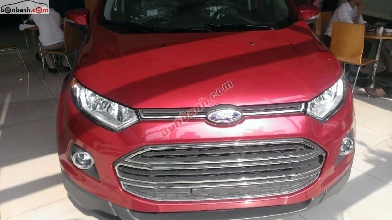 Cần bán Ford EcoSport đời 2015, màu đỏ, chất lượng đảm bảo