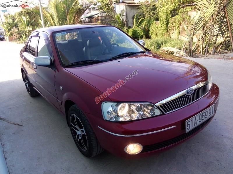 Cần bán xe Ford Laser đời 2003, màu đỏ số sàn, giá bán 290 triệu
