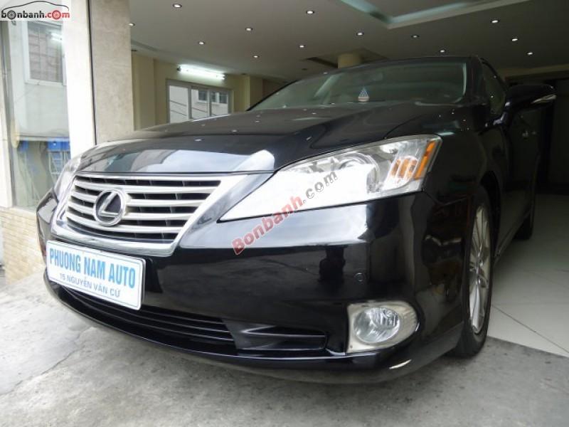 Phương Nam Auto bán ô tô Lexus ES 350 đời 2011, màu đen, xe nhập, chính chủ