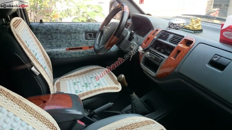 Bán ô tô Toyota Zace Surf đời 2005, màu bạc xe gia đình, giá chỉ 415 triệu