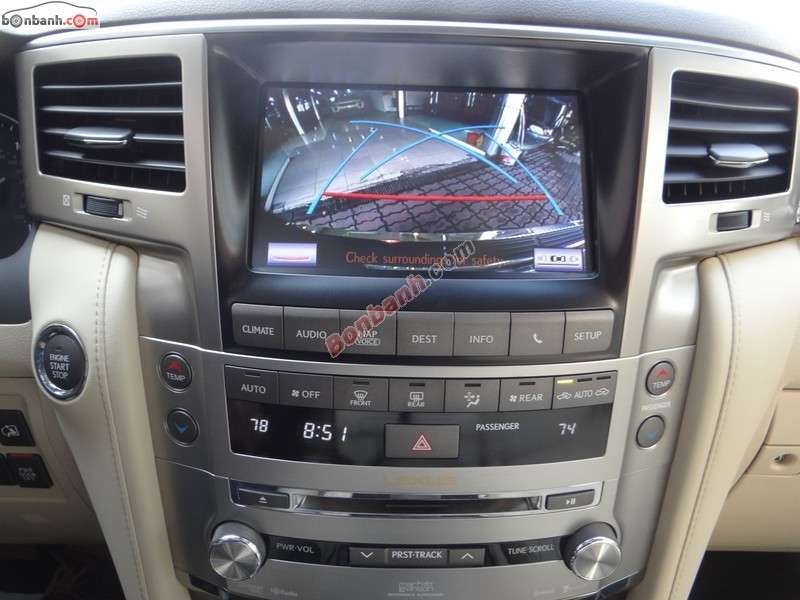 Bán xe Lexus LX 570 đời 2014, màu đen, nhập khẩu nguyên chiếc