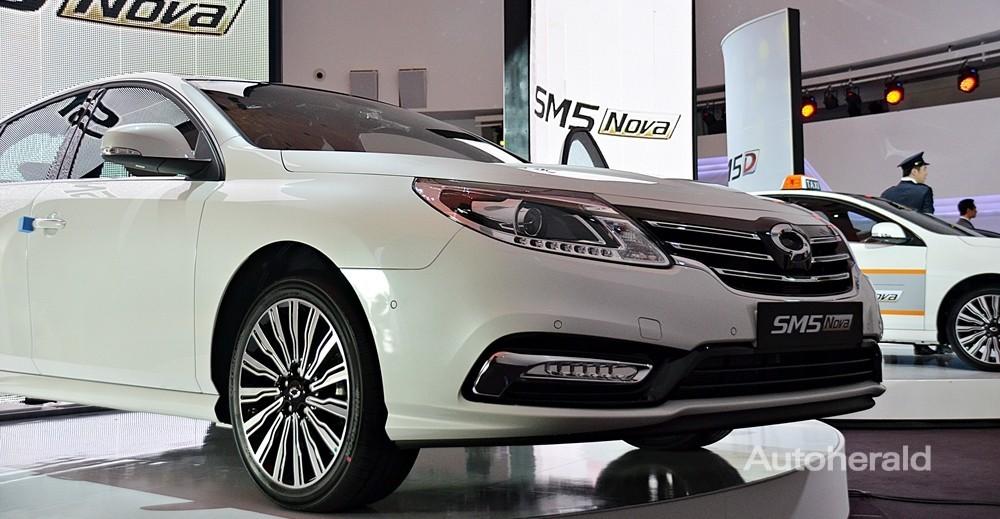 Bán ô tô Samsung SM5 New Turbo sản xuất 2015, màu đen, full options 0912233855