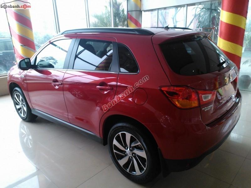 Cần bán Mitsubishi Outlander Sport CVT đời 2014, màu đỏ, nhập khẩu nguyên chiếc