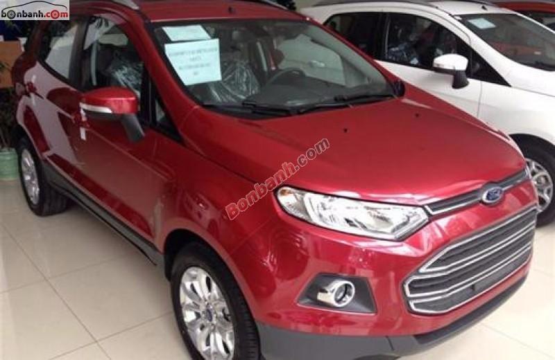 Bán Ford EcoSport sản xuất 2015, màu đỏ, 619 triệu, xe đẹp chất lượng