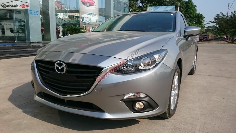 Bán Mazda 3 All New 1.5 2015, màu bạc, công nghệ Skyactiv, hộp số tự động 6 cấp