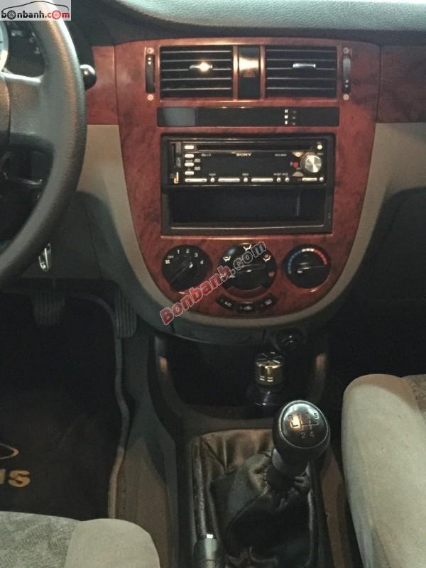 Cần bán lại xe Daewoo Lacetti EX đời 2011, màu đen ít sử dụng