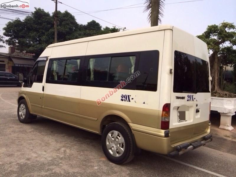 Cần bán gấp Ford Transit 2.4 đời 2005, hai màu chính chủ, xe cực đẹp
