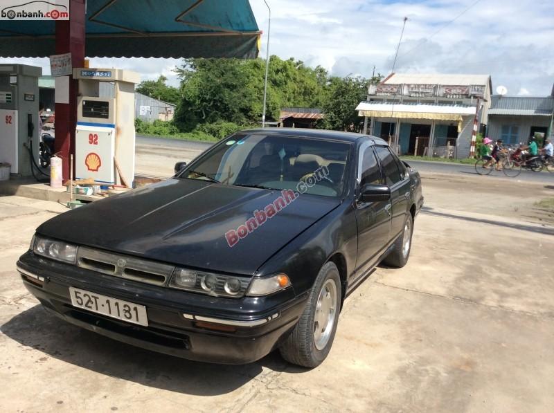 Nissan Cefiro đời 1992, màu đen, nhập khẩu nguyên chiếc