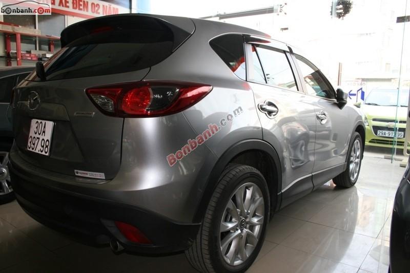 Bán xe Mazda CX 5 đời 2014, màu xám đẹp như mới