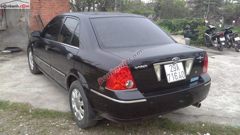 Xe Ford Laser GHIA 1.8 đời 2003, màu đen số tự động cần bán