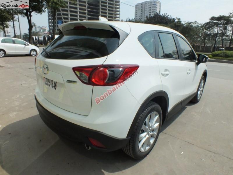 Cần bán xe Mazda CX 5 2.0AT AWD đời 2015, màu trắng tại Mazda Lê Văn Lương
