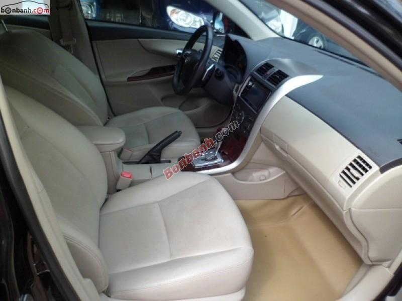 Bán ô tô Toyota Corolla 2.0 sản xuất 2011, màu đen, xe tư nhân chính chủ từ đầu