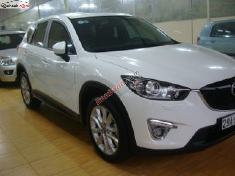 Xe Mazda CX 5 2013, màu trắng chính chủ cần bán