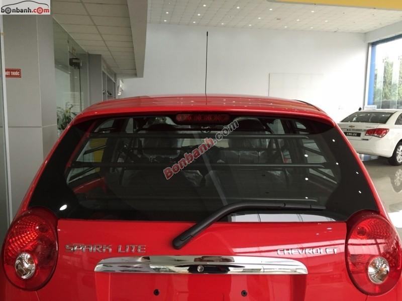 Bán ô tô Chevrolet Spark Van đời 2015, màu đỏ, giá 253tr