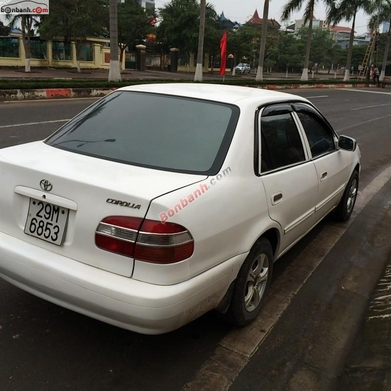 Bán ô tô Toyota Corolla XL đời 2001, màu trắng, giá chỉ 168 triệu