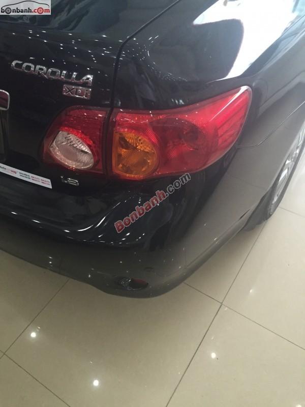 Toyota Corolla XLi 1.8AT đời 2009, màu đen, nhập khẩu chính hãng như mới