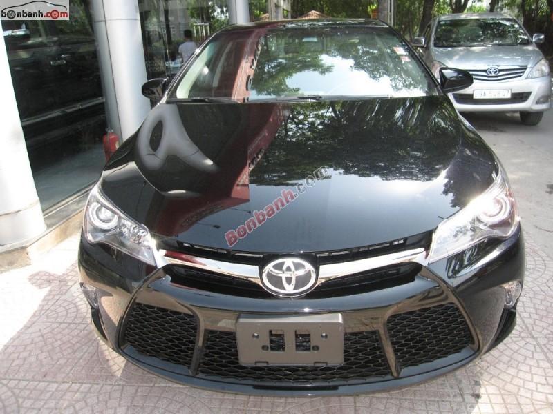 Bán xe Toyota Camry 2.5 XSE đời 2015, màu đen, nhập khẩu