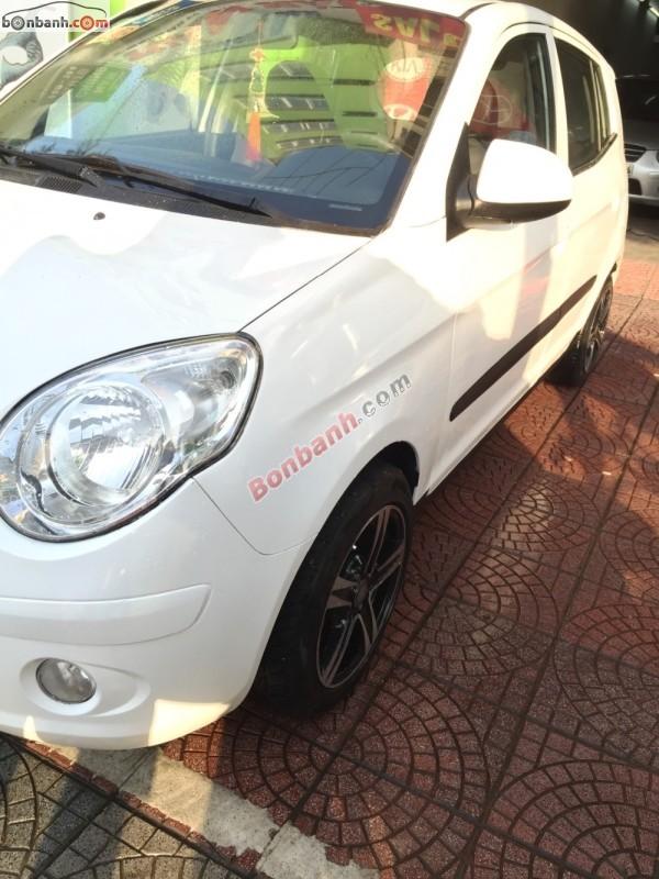 Bán Kia Morning 1.0 đời 2008, màu trắng, nhập khẩu số sàn, giá 245Tr
