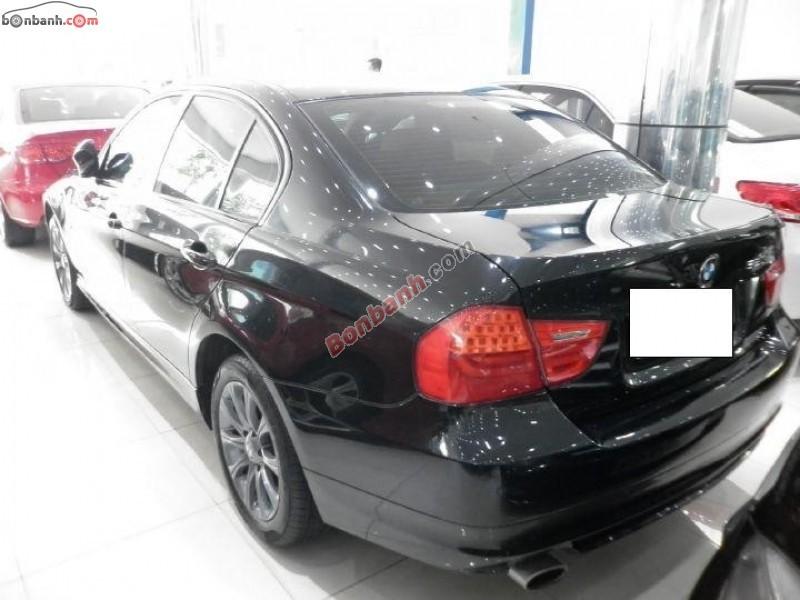 Cần bán lại xe BMW 3 Series 320i đời 2011, màu đen, nhập khẩu chính hãng