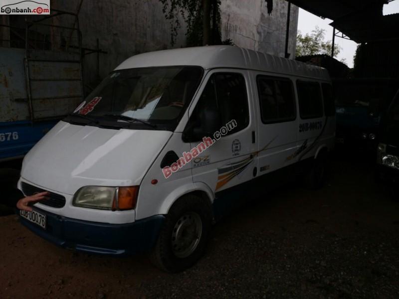 Cần bán xe Ford Transit đời 2000, màu trắng, nhập khẩu chính hãng
