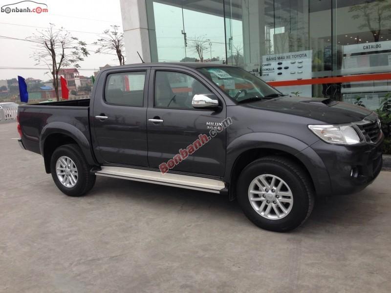 Bán Toyota Hilux G sản xuất 2015, màu xám, xe nhập