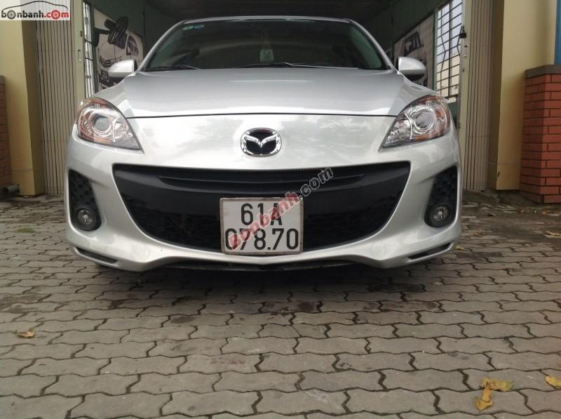 Xe Mazda 3 AT đời 2012, màu bạc số tự động, 628 triệu cần bán