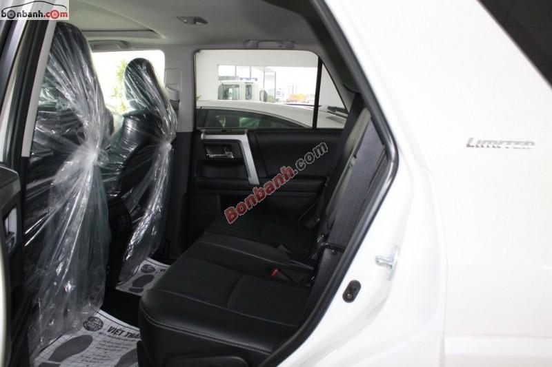 Bán xe Toyota 4 Runner Limited đời 2015, màu trắng, nhập khẩu, giá tốt