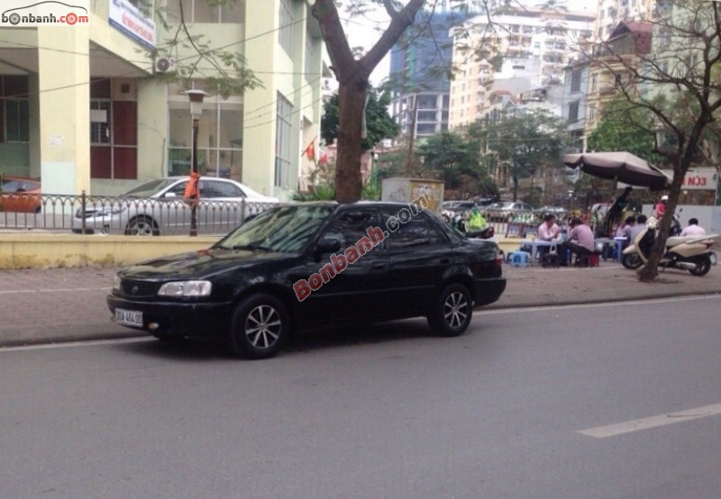 Bán xe Toyota Corolla XL đời 2000, màu đen chính chủ, giá 185Tr