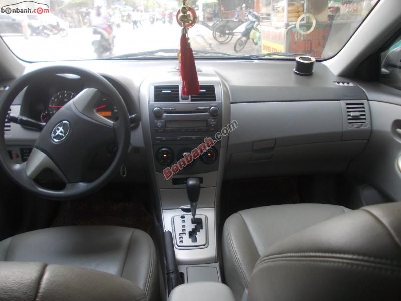 Bán ô tô Toyota Corolla đời 2008, màu bạc
