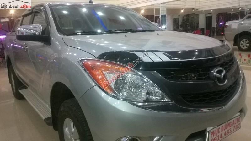 Bán xe Mazda BT 50 MT đời 2014, màu bạc như mới, giá tốt tại Ô tô Phúc Dương