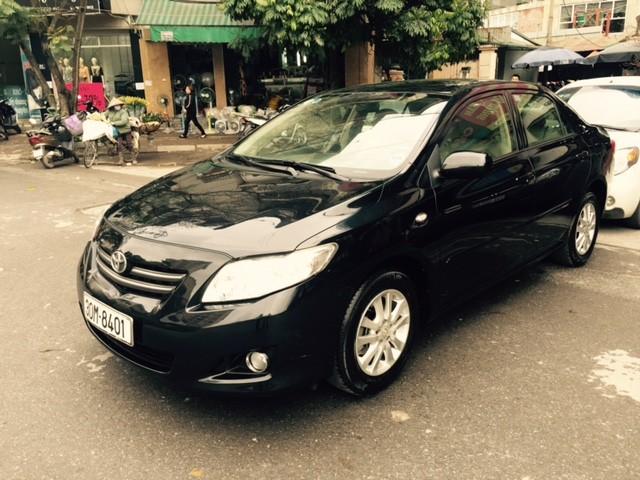 Xe Toyota Corolla XLI đời 2008, màu đen, nhập khẩu xe gia đình cần bán