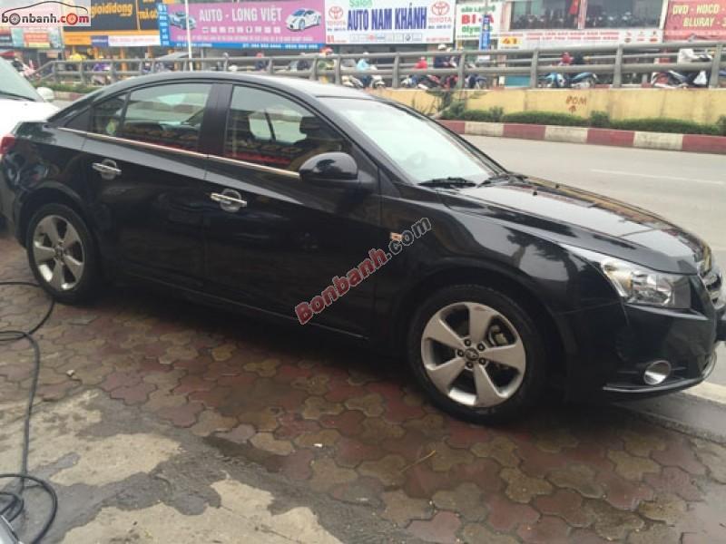 Bán ô tô Daewoo Lacetti CDX đời 2010, màu đen, xe tư nhân chính chủ