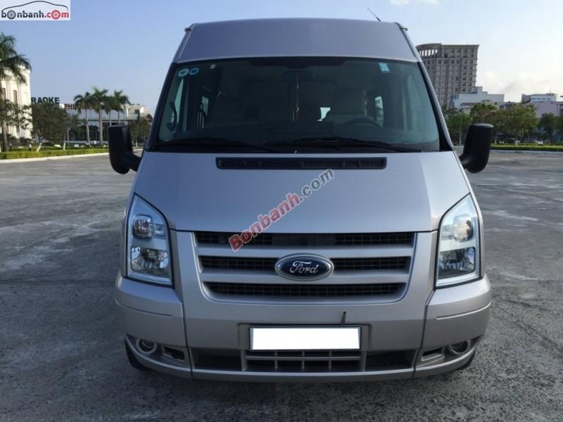 Bán ô tô Ford Transit Limited đời 2013, màu bạc chính chủ
