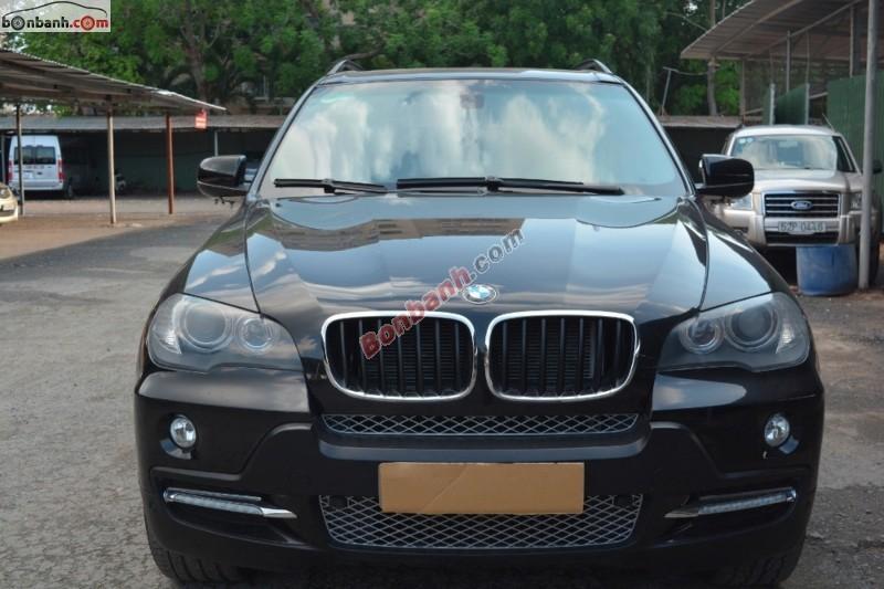 Cần bán BMW X5 xDrive 3.0Si đời 2008, màu đen, nhập khẩu chính hãng