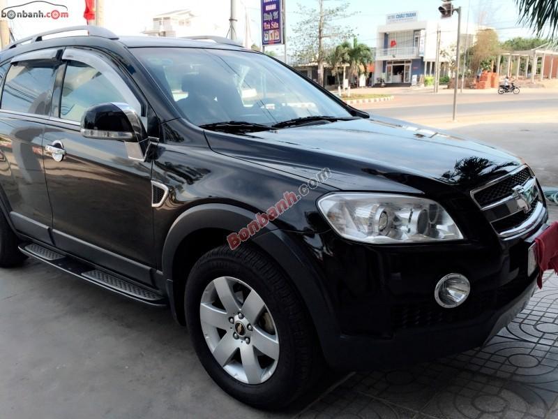 Chevrolet Captiva LT đời 2008, màu đen, giá chỉ 385 triệu