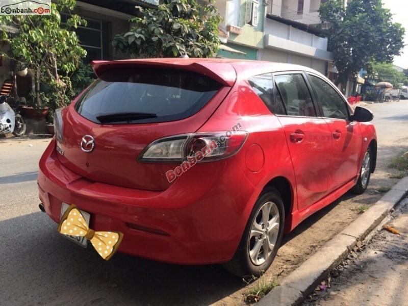Cần bán Mazda 3 đời 2010, màu đỏ, nhập khẩu nguyên chiếc chính chủ