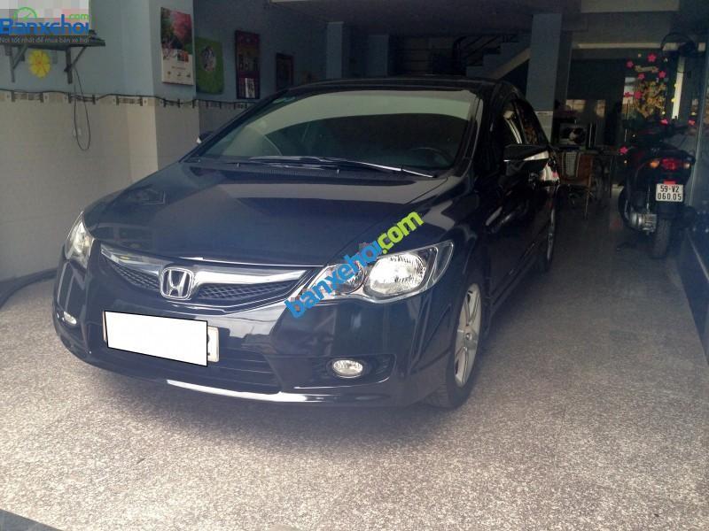 Cần bán lại xe Honda Civic đời 2011, màu đen số tự động