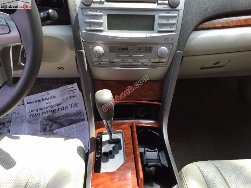 Bán Toyota Camry 2.4G đời 2008, màu đen, giá tốt gọi ngay Salon Ô tô 179