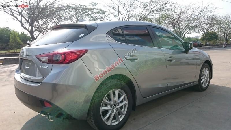Bán xe Mazda 3 1.5AT đời 2015, màu xám, giá bán 729 triệu