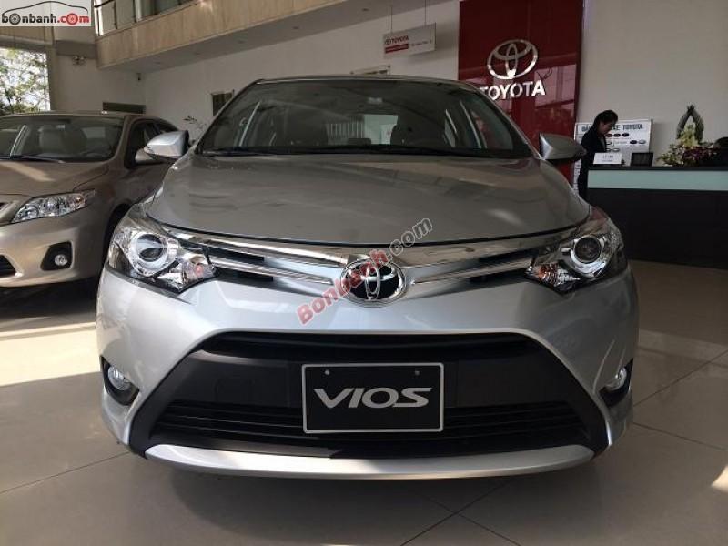 Cần bán Toyota Vios 1.5G 2016, màu bạc, giá cực tốt