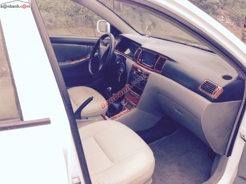 Bán ô tô Toyota Corolla 1.3 2003, màu trắng