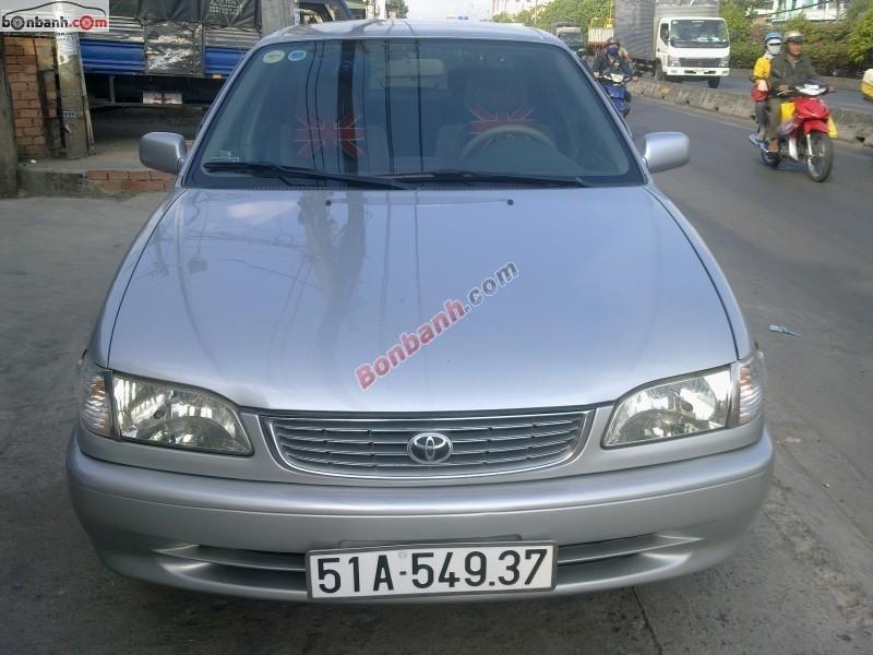 Bán xe Toyota Corolla 1.6 sản xuất 1997, màu bạc, giá 255tr